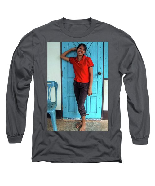 Another Lovely Smile Long Sleeve T-Shirt