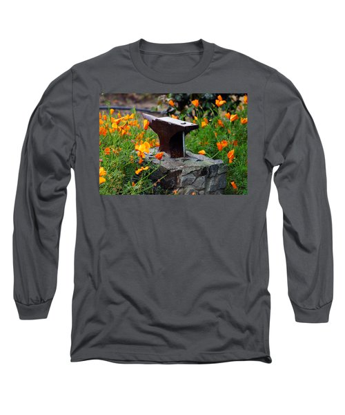 Anvil In The Poppies Long Sleeve T-Shirt