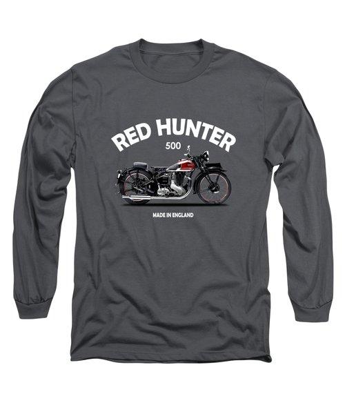 Ariel Red Hunter 1935 Long Sleeve T-Shirt