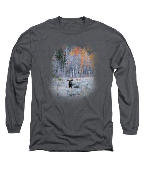 Moose And Aspen Long Sleeve T-Shirt