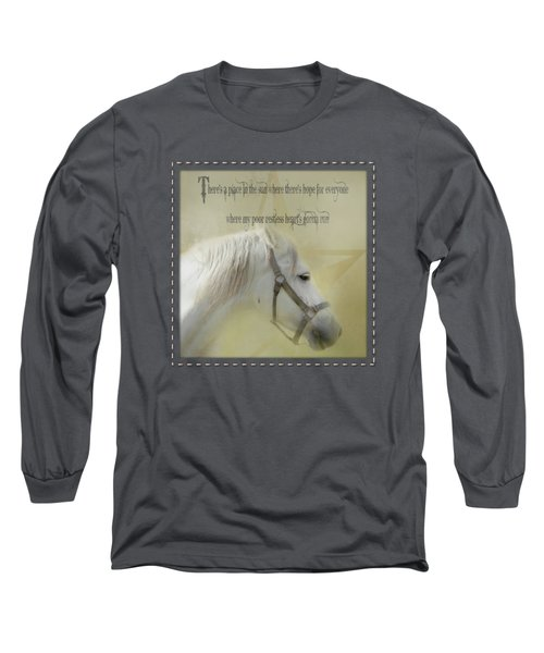 A Place In The Sun - Phrase Long Sleeve T-Shirt