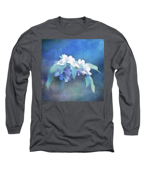 Painted Crabapple Blossoms Long Sleeve T-Shirt