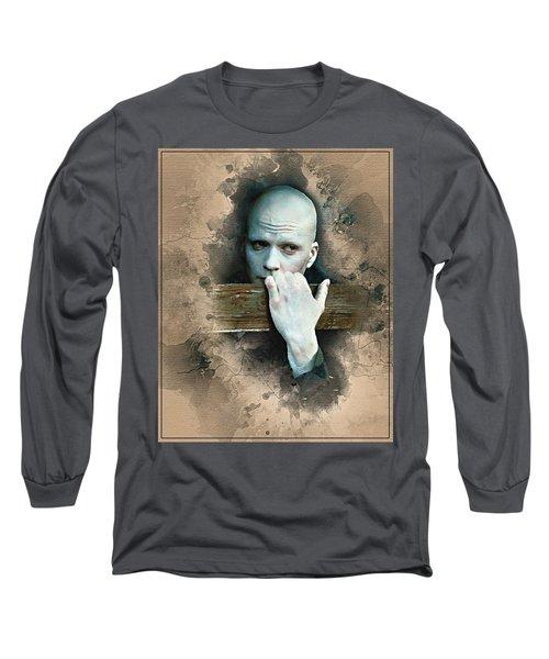 Flanery As Powder Watercolor  Long Sleeve T-Shirt