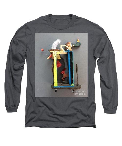 Assemblage #3 Long Sleeve T-Shirt