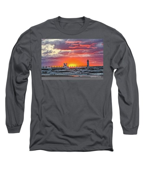 At The Beginning Of The Sunset Long Sleeve T-Shirt