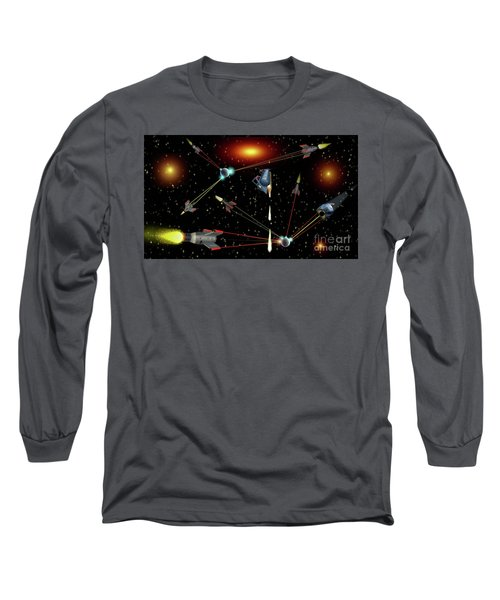 Attacked Long Sleeve T-Shirt