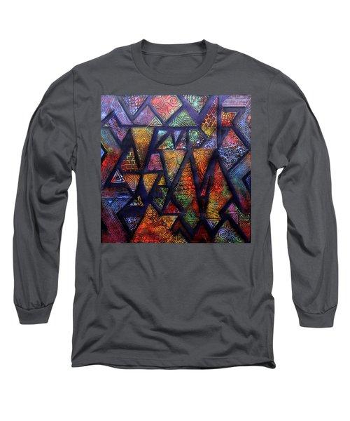Attractive Mosaic  Long Sleeve T-Shirt