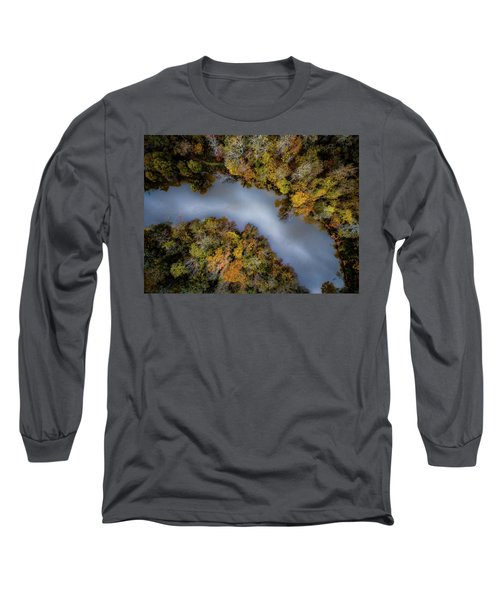 Autumn Arrives At The River Long Sleeve T-Shirt