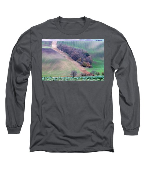 Long Sleeve T-Shirt featuring the photograph Autumn In South Moravia 10 by Dubi Roman