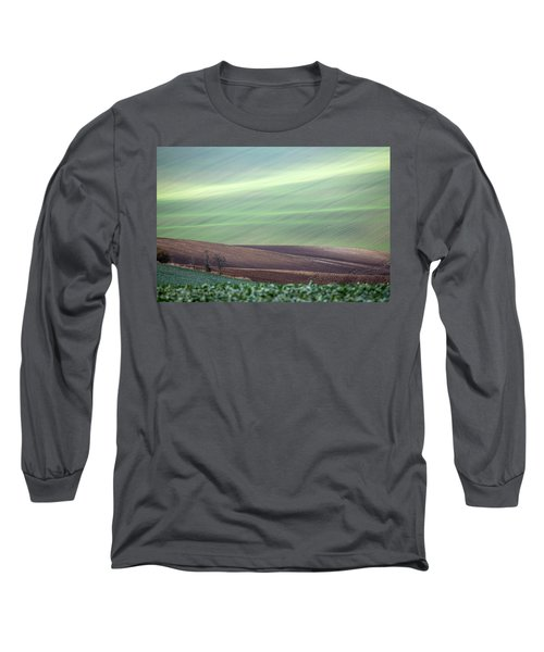 Long Sleeve T-Shirt featuring the photograph Autumn In South Moravia 4 by Dubi Roman