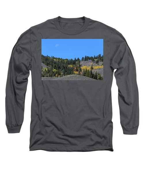 Long Sleeve T-Shirt featuring the photograph Autumn Moon by James BO Insogna