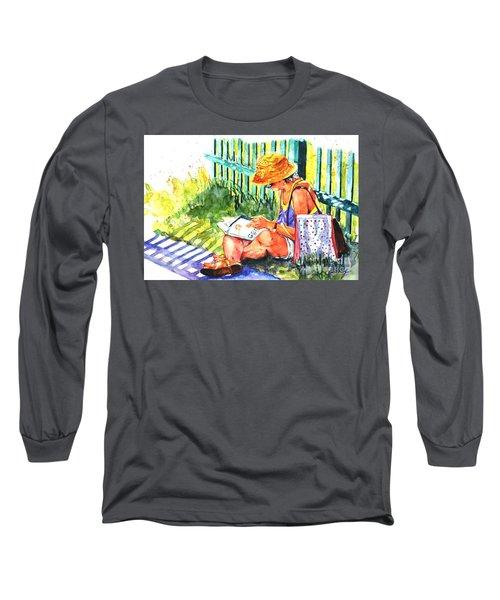 Avid Reader #2 Long Sleeve T-Shirt