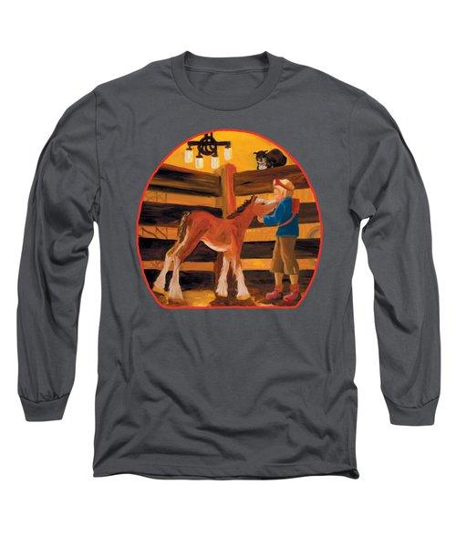 Baby Cricket's Kiss Long Sleeve T-Shirt