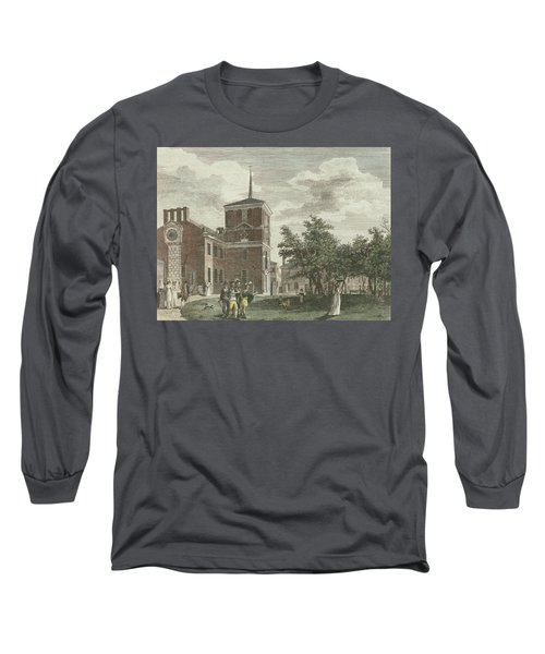 Back Of State House Long Sleeve T-Shirt