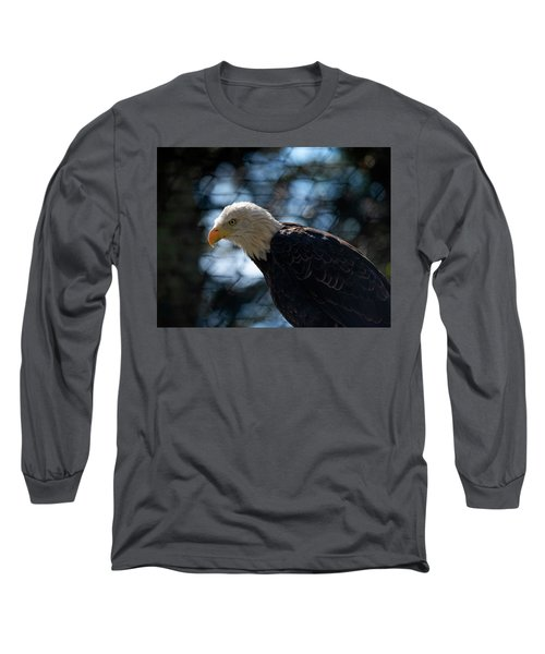 Bald Eagle Grandfather Mountain Long Sleeve T-Shirt