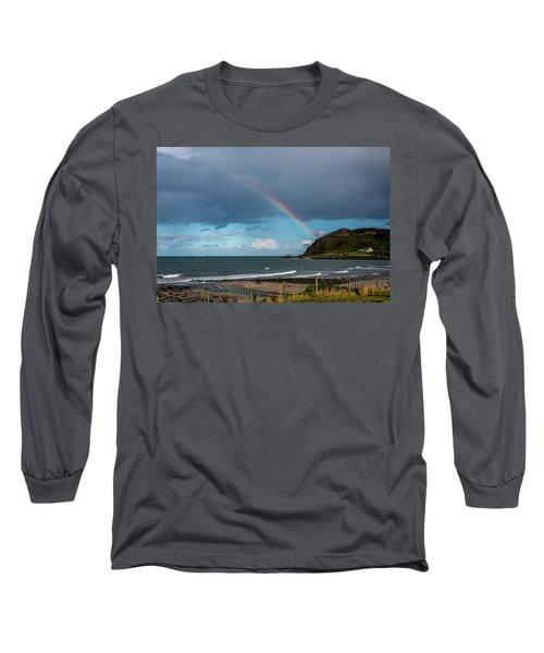 Ballygally Rainbow Long Sleeve T-Shirt