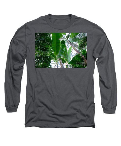 Banana Leaves In The Greenhouse Long Sleeve T-Shirt