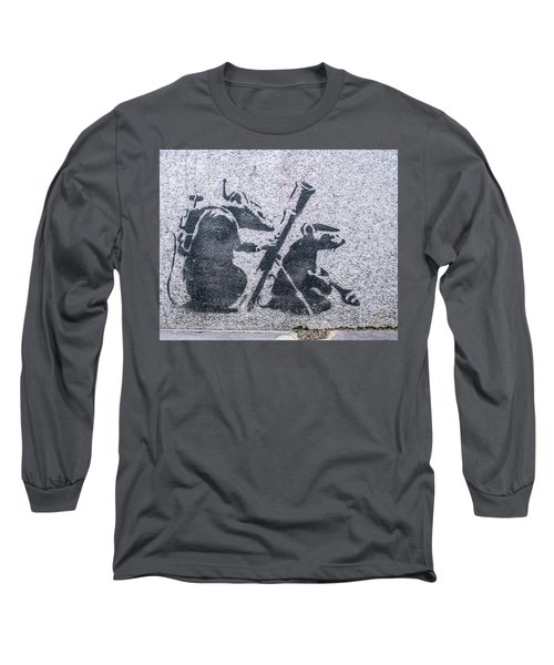 Banksy Bazooka Rats Long Sleeve T-Shirt
