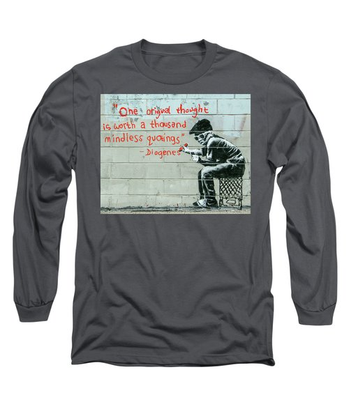 Banksy Diogenes Long Sleeve T-Shirt
