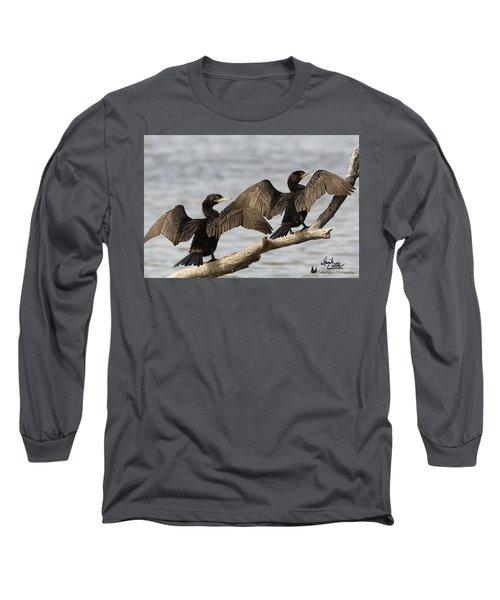 Basking In The Winter Sun Long Sleeve T-Shirt