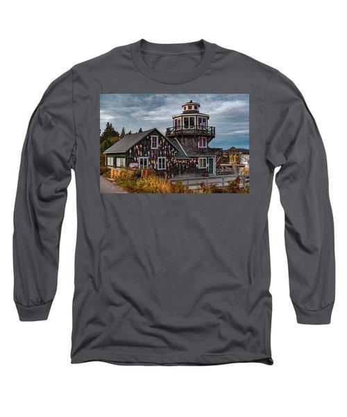 Long Sleeve T-Shirt featuring the photograph Bass Harbor by Rick Hartigan