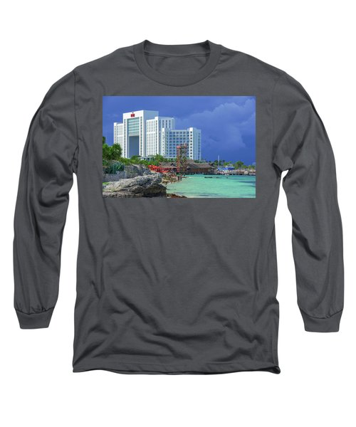 Beach Life In Cancun Long Sleeve T-Shirt