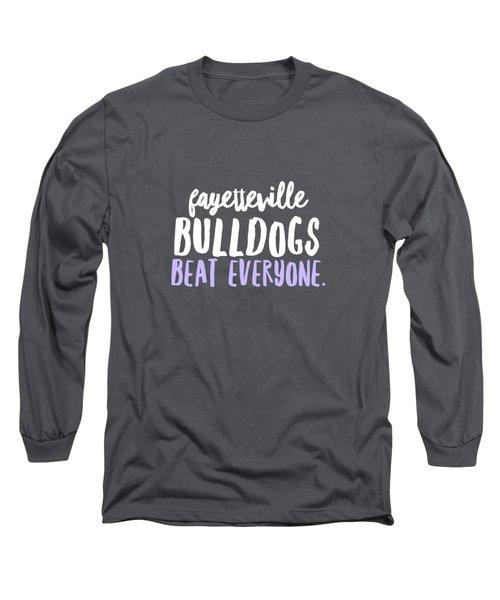 Beat Everyone Bulldogs Long Sleeve T-Shirt