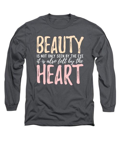 Beauty Heart Long Sleeve T-Shirt