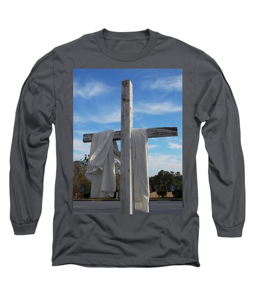 Behold, He Is Coming With The Clouds, Long Sleeve T-Shirt