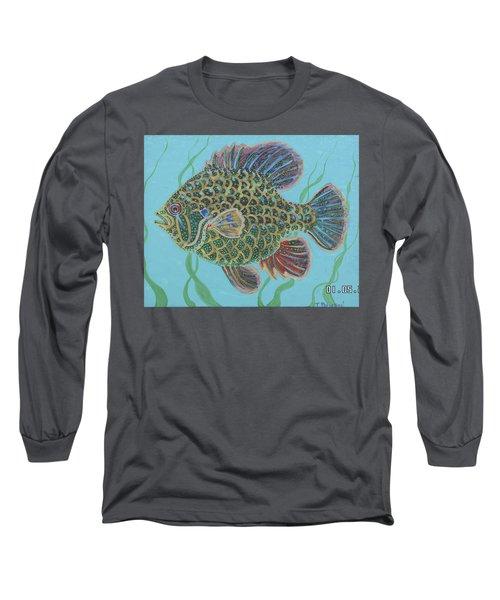 Bejeweled Bluegill Long Sleeve T-Shirt