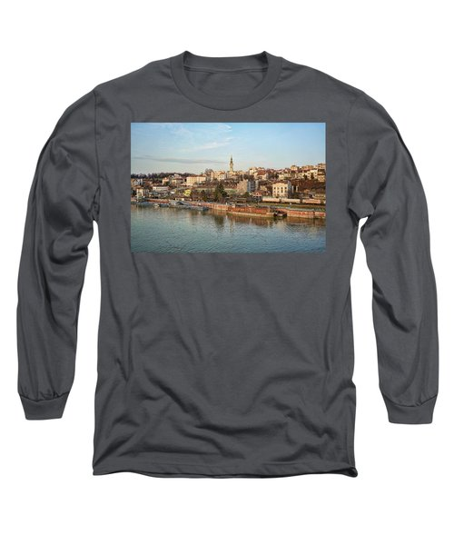 Belgrade Cityscape Long Sleeve T-Shirt
