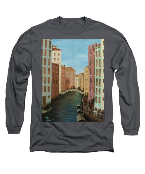 Beyond The Grand Canal Long Sleeve T-Shirt