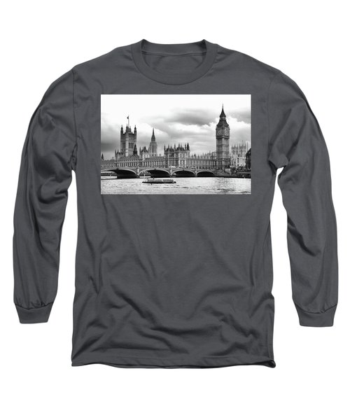 Big Clock In London Long Sleeve T-Shirt
