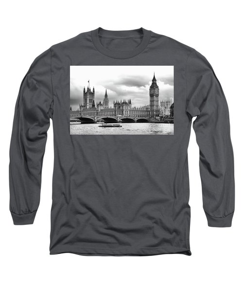 Big Clock In London Long Sleeve T-Shirt
