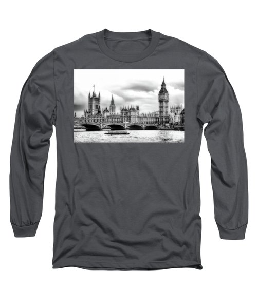 Big Clock In London Soft Long Sleeve T-Shirt