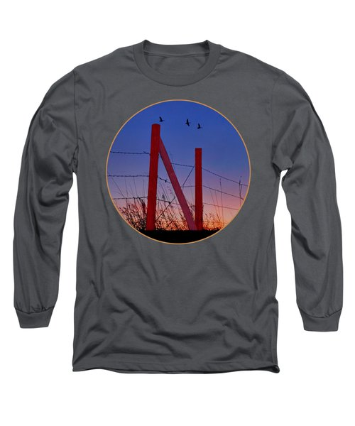 Big Red - Nebraska - Transparent Long Sleeve T-Shirt