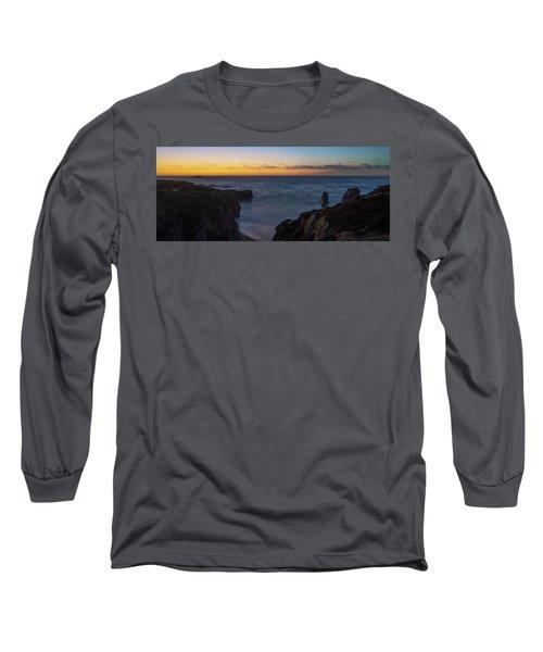Big Sur California Sunset Long Sleeve T-Shirt