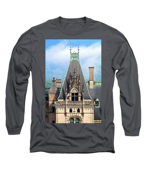 Biltmore Architectural Detail  Long Sleeve T-Shirt