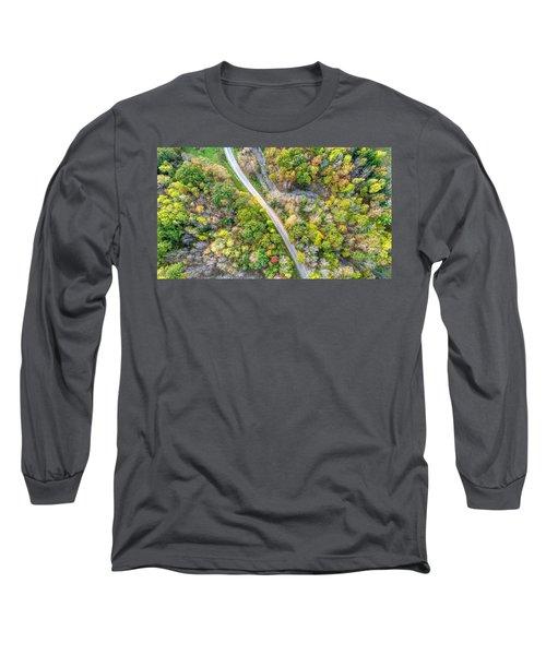 Bird Eye View Long Sleeve T-Shirt