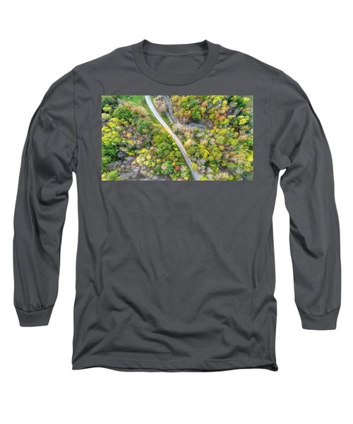Bird Eye View Long Sleeve T-Shirt