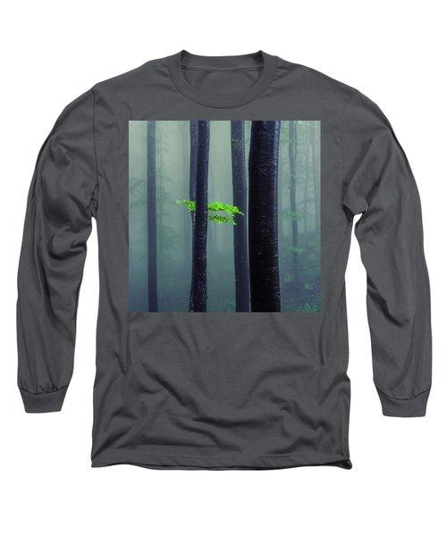 Bit Of Green Long Sleeve T-Shirt