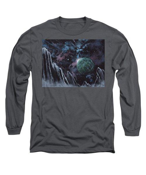 Black Ice Canyon Long Sleeve T-Shirt