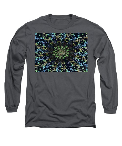 Long Sleeve T-Shirt featuring the photograph Black Russian Flora by Rockin Docks
