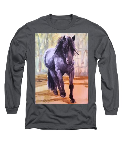 Black Stallion Long Sleeve T-Shirt
