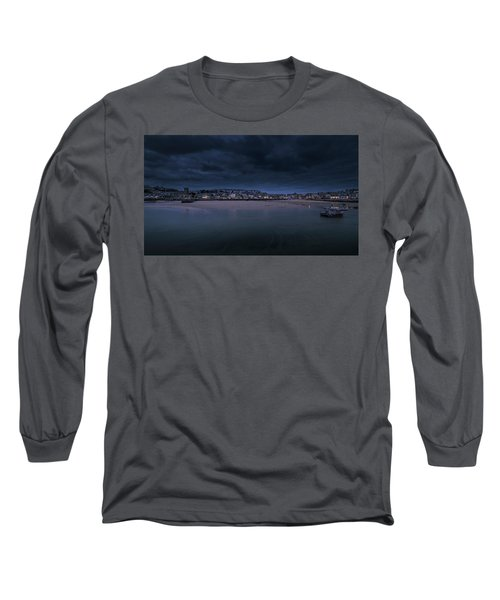Blue Hour - St Ives Cornwall Long Sleeve T-Shirt