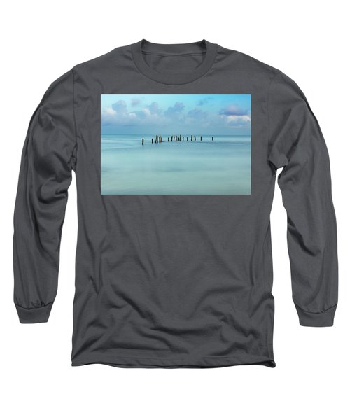 Blue Mayan Sea Long Sleeve T-Shirt