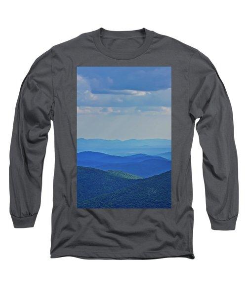 Blue Ridge Mountains Long Sleeve T-Shirt