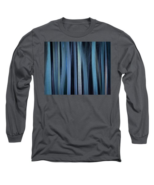 Blue Trees 1 Long Sleeve T-Shirt