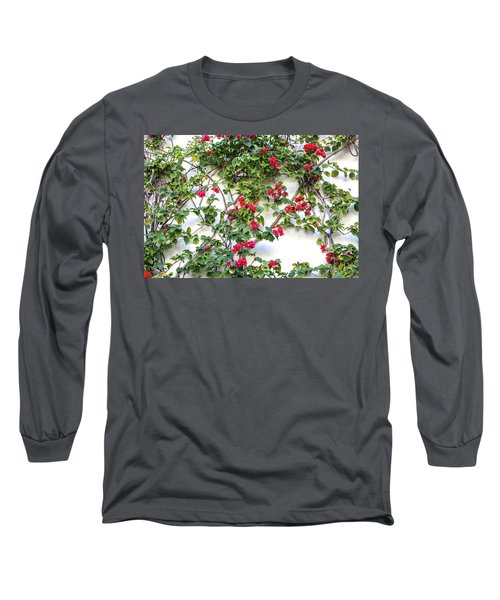 Blushing Blooms Long Sleeve T-Shirt