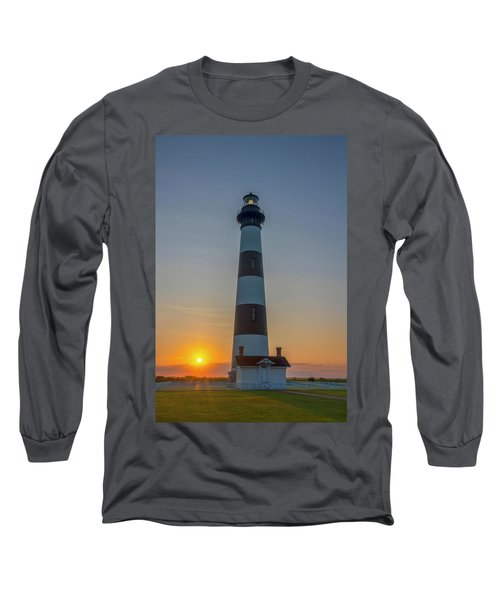 Bodie Island, Sunrise, Obx Long Sleeve T-Shirt